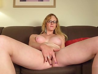 Mature Tranny Plays With Will not hear of Wet Pussy