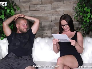 Casting couch cock lane and blowjob from Wendy Moon