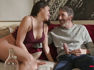 Riding strong boner cock is so much pleasure for charming cowgirl Luna Star