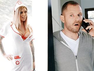 Nurse hardcore intrigue b passion businessman for jar of sperm