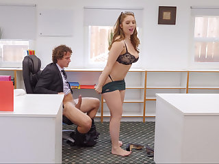 Naughty bigwig getting fucked by her assistant