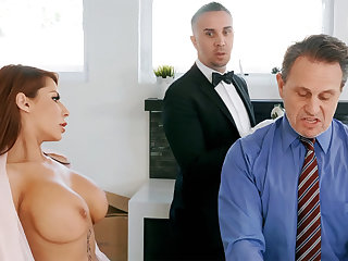 Horny butler is ready to anal be thrilled by housewife