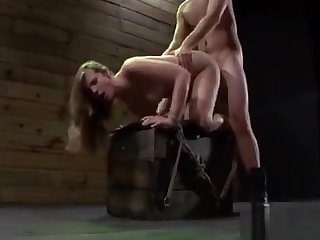 Roped Babe Gets Wet From A Bdsm Captivating Prizefight