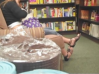 Honourable Bookstore Legs in Strappy Sandals 2010