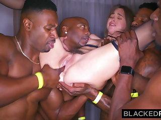 BLACKEDRAW My girlfriend got gangbanged on tap the inhibition party