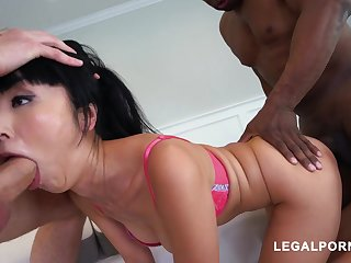 Marica Hase Gets Double Rounded out By Hard Dicks - SHAG HARD Have sexual intercourse