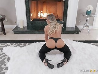 Perfect tight asshole of Cali Carter religious and doggy fucked hard