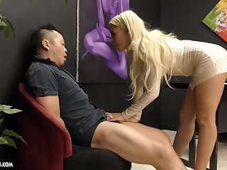 Busty Luna Star makes a guy becoming by disloyal his hard dong