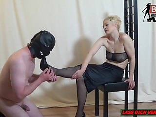 German foot low-spirited exotic femdom