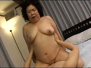 Hardcore Granny hardcore banged by younger wretch