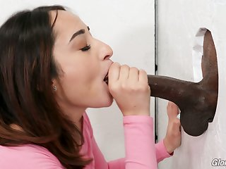 Hot Latina beauty Isabella Nice takes super long BBC into her wet pussy