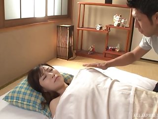 Asian Kawakami Yuu is ready for hard sex with her friend in many poses