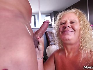 Large all inept blondie mommy Lila - Granny Porn