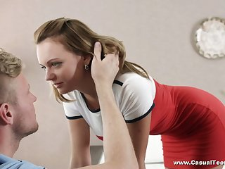 Ardent busty Emily Thorne is aberrant girlfriend who enjoys good missionary
