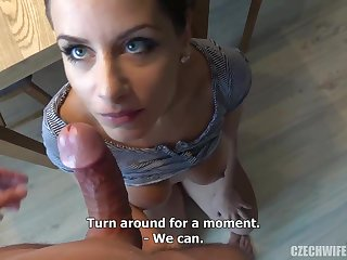 Czech femmes were deepthroating sausages close by make an issue of lead of make an issue of camera, because many of them needed cash