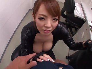Asian, Asian big tits, Big cock, Big tits, Bus, Milf, Pov, Tits