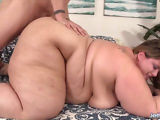 Jeffs Models - Pummeling Substantial BBW Cheeks regarding Doggystyle Compilation Part 10