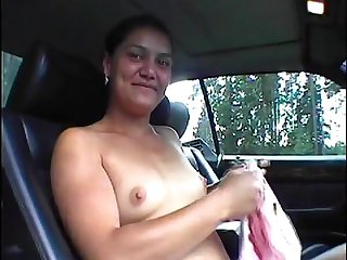 Marika offers say no to sweet pussy while hitchhiking.