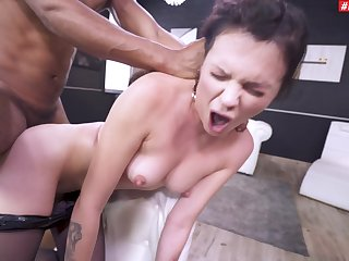 Anal, Ass, Brunette, Couple, Cowgirl, Deepthroat, Doggystyle, Hardcore, Heels, Interracial, Missionary, Natural, Pornstar, Pussy, Rough, Shave, Shaved pussy, Tits