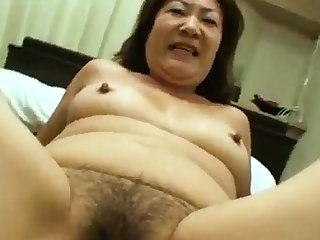 Asian Granny Loves Young Learn of